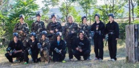 Bili smo na klupskom paintball-u